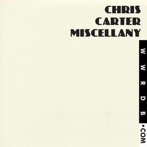 Chris Carter Miscellany Box Set primary image photo cover